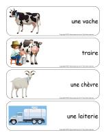 Étiquettes-mots géants-Les produits laitiers-3