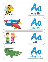 Étiquettes-mots géants-Lettre A-1