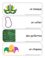 Étiquettes-mots géants-Mardi gras-1