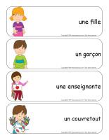 Étiquettes-mots géants-Maternelle-1