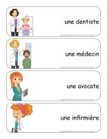 Étiquettes-mots géants-Métier de maman