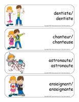 Étiquettes-mots géants-Métiers-2
