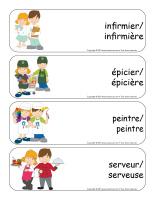 Étiquettes-mots géants-Métiers-3