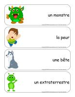 Étiquettes-mots géants-Monstres-1