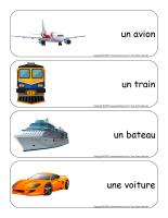 Étiquettes-mots géants-Moyens de transport-1