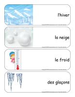 Étiquettes-mots géants-Neige-1