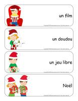 Étiquettes-mots géants-Noël-Jeux libres-1