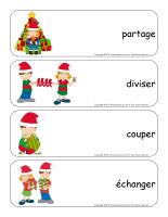 Étiquettes-mots géants-Noël-Le partage-1