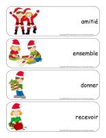 Étiquettes-mots géants-Noël-Le partage-3