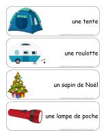 Étiquettes-mots géants-Noël des campeurs-1