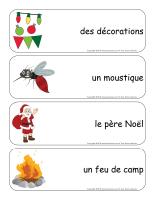 Étiquettes-mots géants-Noël des campeurs-2