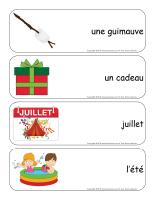 Étiquettes-mots géants-Noël des campeurs-3