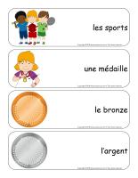 Étiquettes-mots géants-Olympiades d'été-1