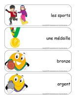Étiquettes-mots géants-Olympiades d'hiver-1