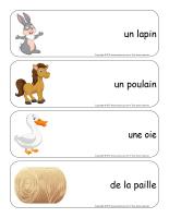 Étiquettes-mots géants-Pâques-La ferme-3