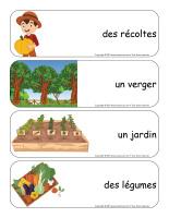 Étiquettes-mots géants-Récoltes-1