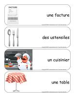 Étiquettes-mots géants-Restaurant-2
