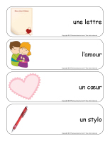 Étiquettes-mots géants-Saint-Valentin-Lettres d'amour-1