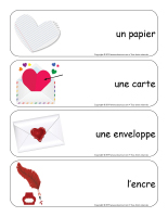 Étiquettes-mots géants-Saint-Valentin-Lettres d'amour-2