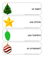 Étiquettes-mots géants-Sapin de Noël-1