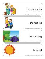 Étiquettes-mots géants-Vacances d'été-1