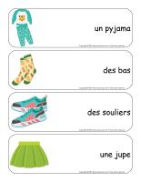Étiquettes-mots géants-Vêtements-2