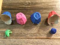 Fabriquer un jeu de mémoire surprise avec des boites d'œufs-3