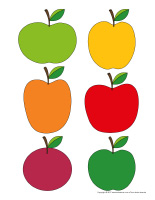 Famille de pommes