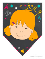 Fanions-Journée de l'enfant