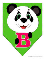 Fanions-Pandas