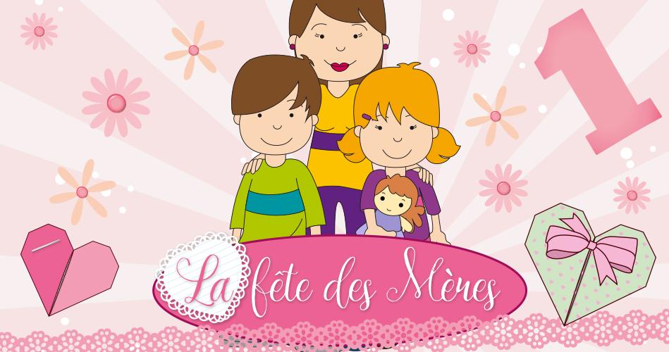 La fête des Mères, activités pour enfants.   Educatout 000b6aa386b