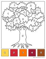 les arbres activit s pour enfants avec fiches imprimables. Black Bedroom Furniture Sets. Home Design Ideas