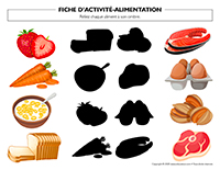 Fiches d'activité-Alimentation