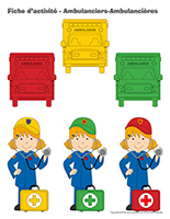 Fiches d'activité-Ambulanciers-Ambulancières