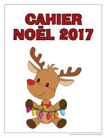 Fiches d'activité-Cahier de Noël 2017