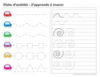 Fiches d'activité-Cahier-j'apprends à tracer-1
