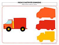 Fiches d'activité-Camions