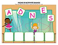 Fiches d'activité-Danse