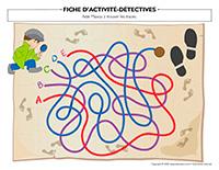 Fiches d'activité-Détectives