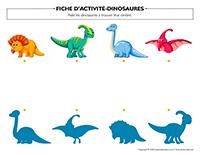 Fiches d'activité-Dinosaures