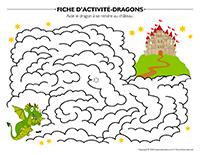 Fiches d'activité-Dragons.