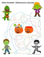 Fiches d'activité-Halloween-La sécurité