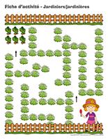 Fiches d'activité-Jardiniers-Jardinières