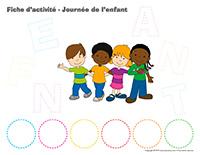 Fiches d'activité-Journée de l'enfant 2019
