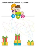 Fiches d'activité-Journée de l'enfant