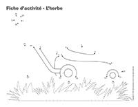Fiches d'activité-L'herbe