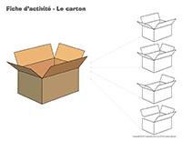 Fiches d'activité-Le carton