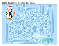 Fiches d'activité-Le monde polaire