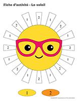 Fiches d'activité-Le soleil