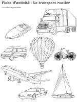 Fiches d'activité-Le transport routier